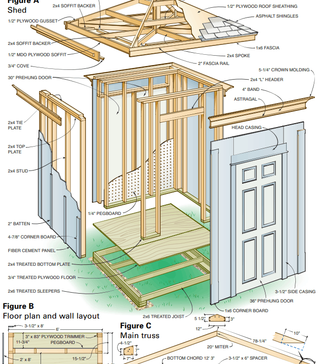 6x6 shed
