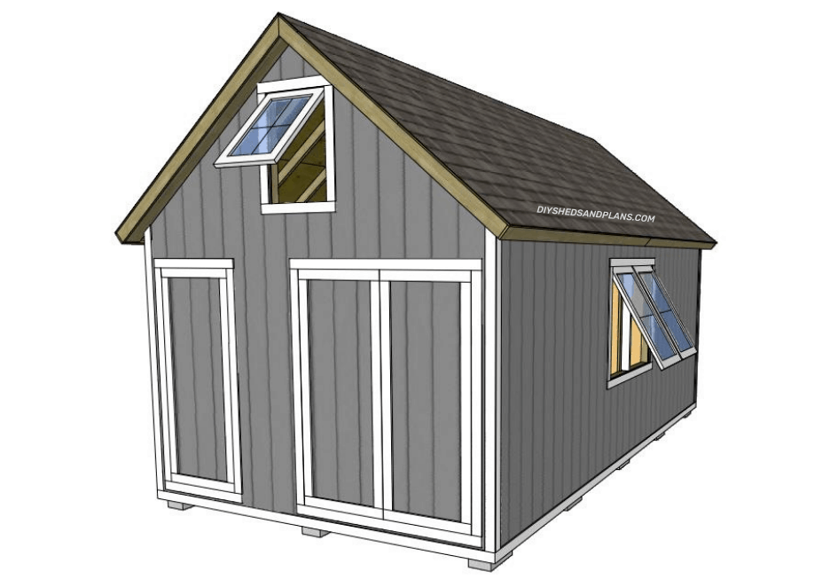 12x24 shed plans