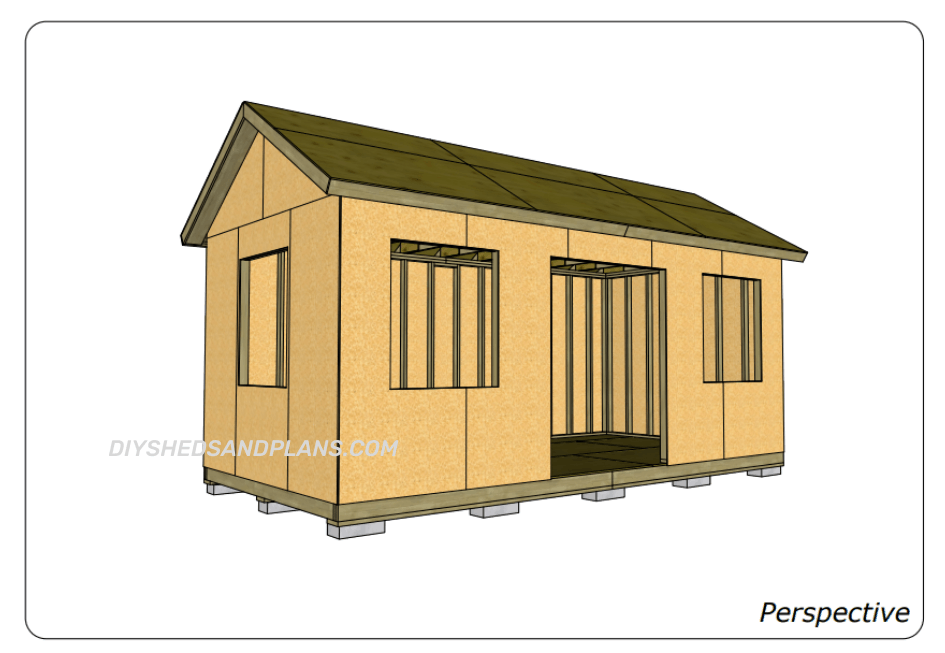 10x20 Shed Plans