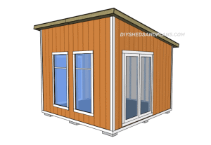 12x12 Shed Plans