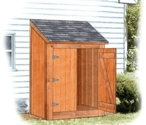Ryan's Lean-to Tool Shed