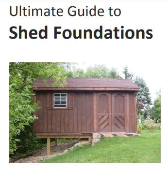 Ryans Ultimate Guide To Shed Foundations