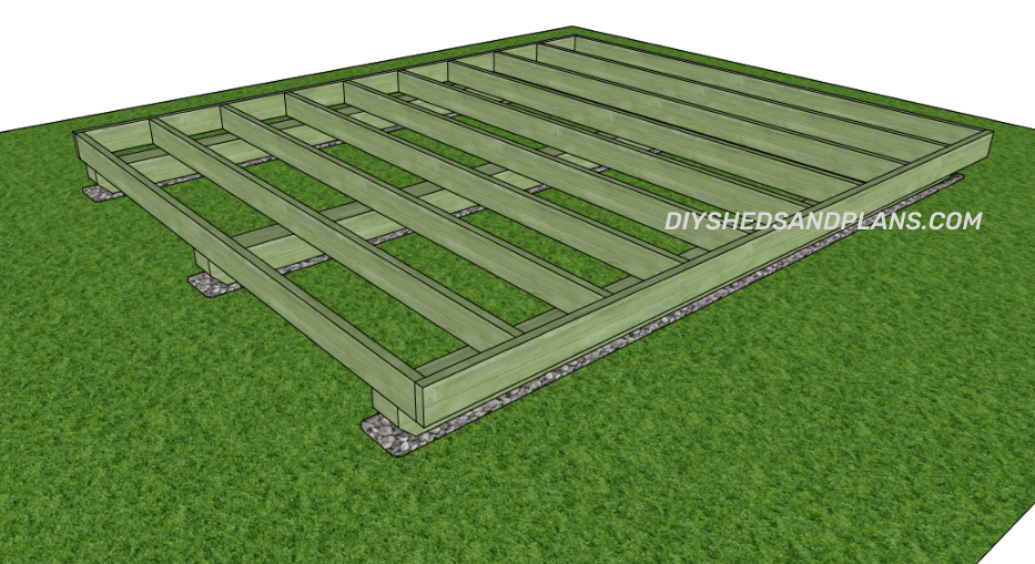 How To Build A Shed Floor On Skids