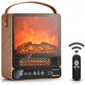 Heating A Shed With Portable Fireplace