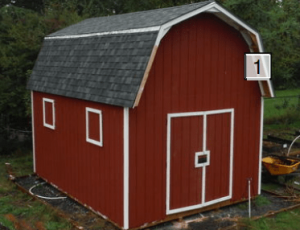 Ryans 12x16 Shed